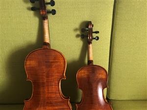 尼克羅小提琴 4/1和4/4 一把1200 買時1800 九成新