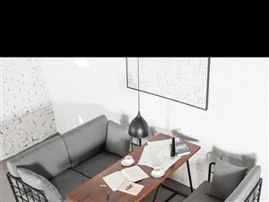 咖啡茶座酒吧用桌椅、沙發、茶幾,共4套