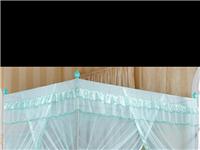 優麗卡家紡 蚊帳 三開門落地不銹鋼加粗加厚支架? 78元買的,用了4年了,現在便宜出售。15塊錢來...