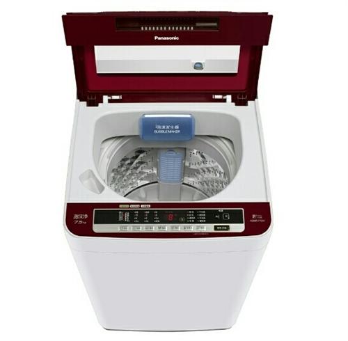 松下7.5公斤全自動洗衣機。