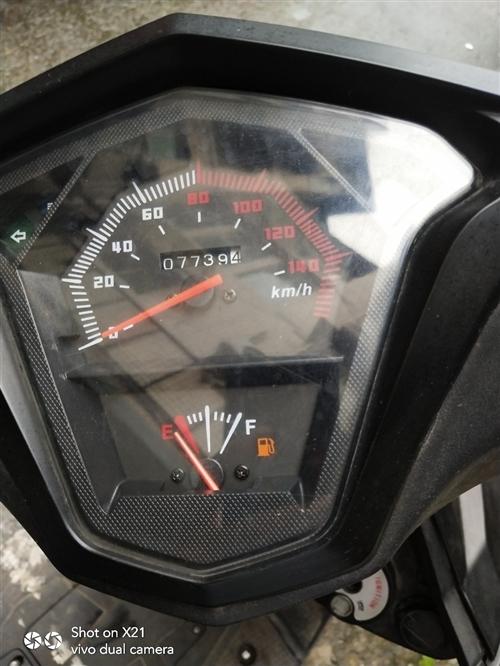 125摩托车出售,手续齐全。因外出便宜出售,要的联系