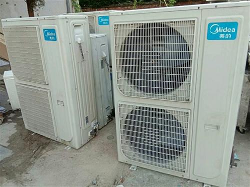 天气炎热空调热卖  大量二手空调低价出售