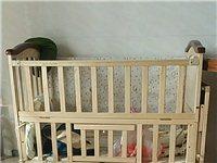 闲置的婴儿床,原价399,现甩卖,基本全新,配件齐全,小刀可接,关公死开!