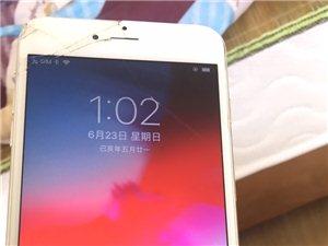 苹果六puls出手,纯个人东西。正宗国行支持联通移动电信。外屏幕摔坏其他没有毛病。因换新手机故出售