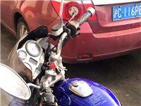 豪爵125摩托车