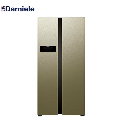 **英国达米尼超薄对开门智能冰箱,苏宁易购价7999元,现亏本出售5600元。全县仅此一台限量版。