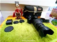 佳能500D单反相机 全套 75-300三代长焦镜头    成色看图自定,功能正常,机身带电池,...