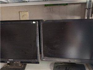 临泉出售19寸显示器20台,成色一般,色彩正常,无暗病,不议价,