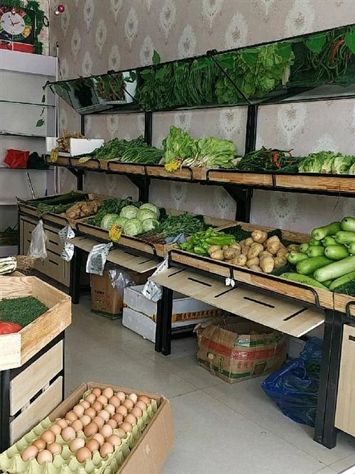 99新水果蔬菜货架,现因撤店不干了,所以便宜转让,我入手时380一套,双层的,镜子我自己买的安装的,...