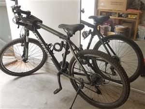 正品美利达自行车,很少骑,给喜欢的朋友。非诚勿扰。