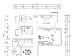 中部礼品城国际花园3室 2厅 2卫50万元