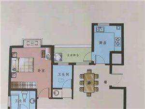 南北通透现房3室 2厅 2卫60万元