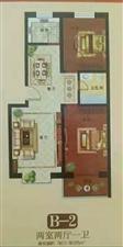 宏美金领域2室 1厅 1卫65万元
