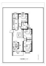 新东城3室 2厅 1卫,超低价格