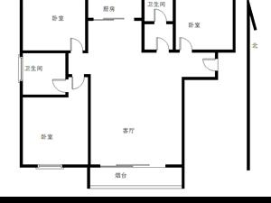 同�N・御景园3室 2厅 2卫66万元
