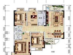 阳光水岸江景4室 2厅 2卫84万元