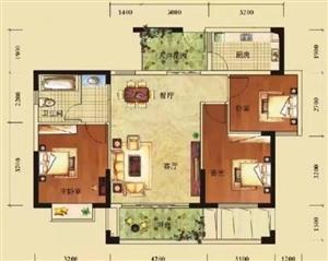 奥林华府3室 2厅 1卫72万元