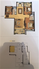 力志御峰3室 2厅 2卫103.8万元中高层