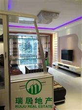 龙腾锦城88.9平米2室全新装修带所有一起卖