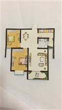 保盛龙城2室 1厅 1卫48.5万元首付20万