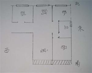 香槟大道3居室,单价7500/平,低楼层,本满二!