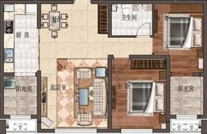 东风新区2室 1厅 1卫104万元