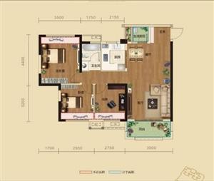 汉水秀城一期清水房  3室 2厅 1卫  50万元