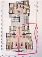 西岸悦湾3室 2厅 1卫82万元