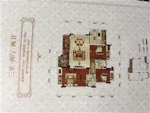 凤凰城端头洋房3室2厅2卫67.8万元
