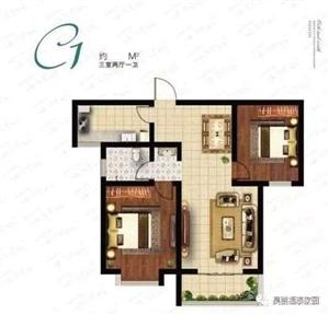 福泰家园3室 2厅 2卫48万元