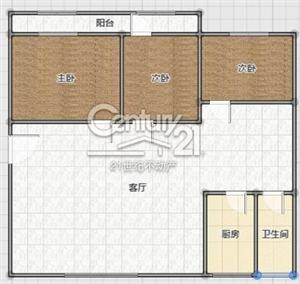 建材小区3室 2厅 1卫110万元