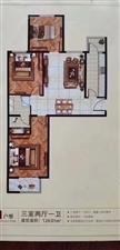 惠东花园3室 2厅 2卫南北通透
