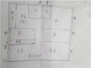 龙庭苑4室 2厅 2卫76.5万元