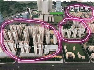 深圳龙岗万科回迁房指标房不限购不用名额购红本商品房