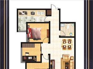 西安海棠湾小区2室 2厅 1卫38万元