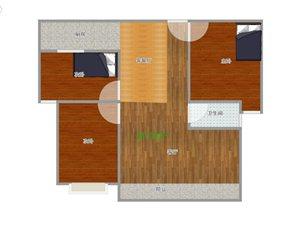 3室 2厅 1卫1250元/月