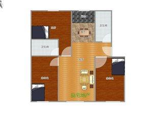瑞祥小区附近3室 2厅 2卫1250元/月