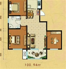泽州华府3室 1厅 1卫55万元