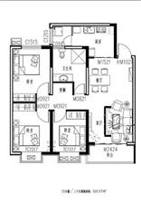 新东城3室 2厅 1卫65万元
