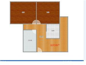 新康家园附近2室 1厅 1卫5400元/月