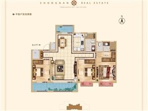 中南雅苑3室 2厅 2卫94万元
