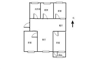 便宜房子!新村花�@三��109平69.8�f急售有�匙