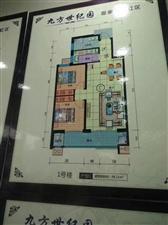 九方世纪园2室 13楼包改名53万元