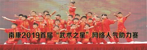 """南康2019首届""""武术之星""""网络人气助力赛投票入口"""