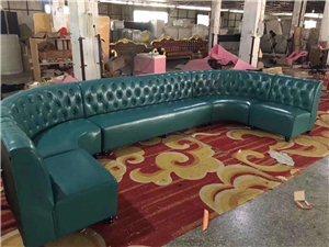 绵阳酒吧沙发定做绵阳卡座沙发生产