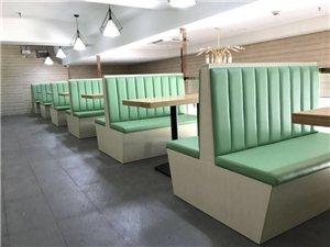 四川盐亭餐厅卡座沙发定做厂家
