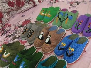手工毛線拖鞋專賣