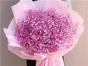 情人节实体鲜花店玫瑰鲜花花束礼盒速递