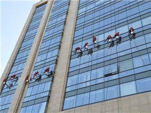 专业郑州玻璃幕墙清洗公司15803857755