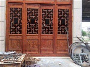 中式裝修仿古門窗